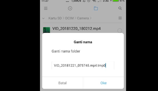 Cara Mengatasi Video Yang Rusak Atau Tidak Bisa Diputar Pada Rekaman