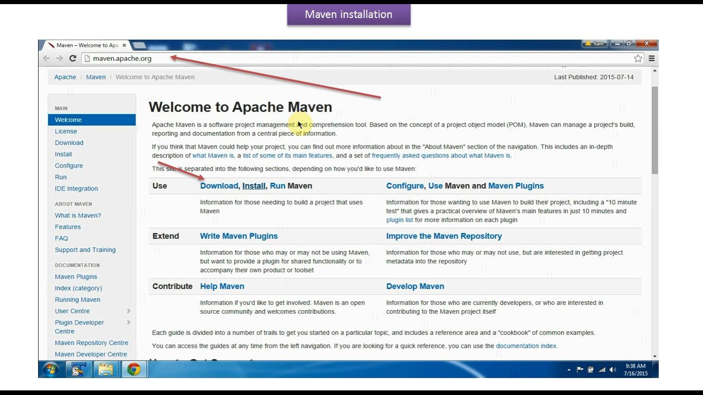 apache maven download