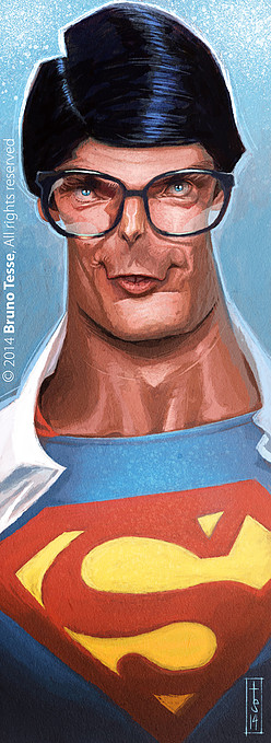 Christopher Reeve por Bruno Tesse