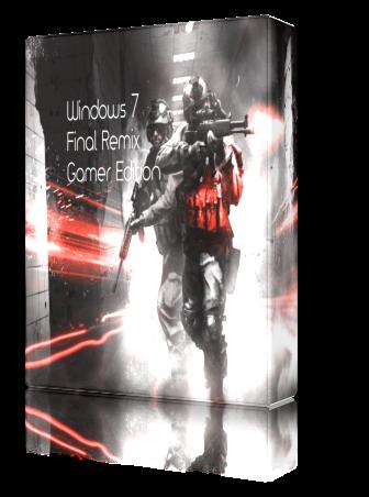 Windows 7 Final Remix Gamer Edition (64 bit) AIO - No H D D