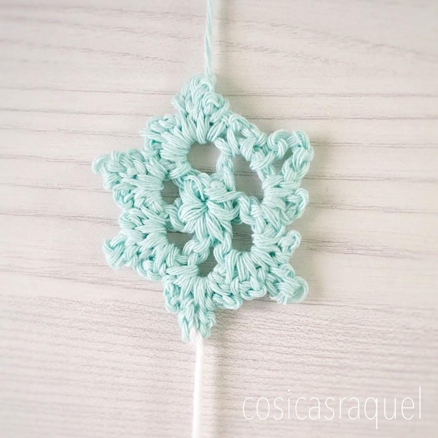 cosicasraquel: Copo de Nieve Crochet