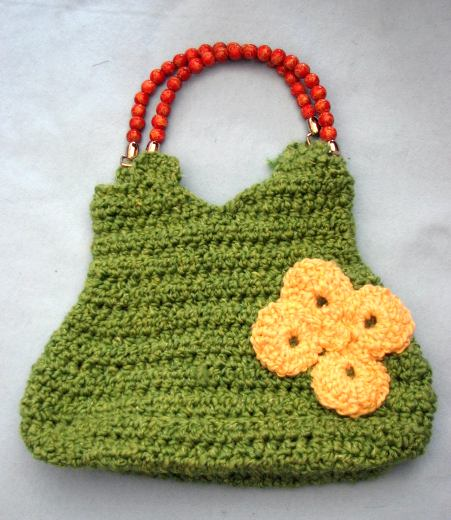 Homespun Yarn Crochet Patterns : ... Blog of Free Patterns: Six Free Homespun Yarn Purse Crochet Patterns