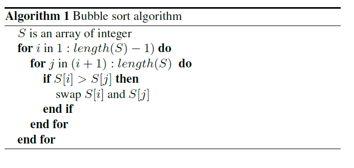 Write algorithm in latex online