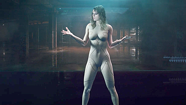 Taylor Swift Strips Nearly Naked In Nude Bodysuit For Sexy -5224