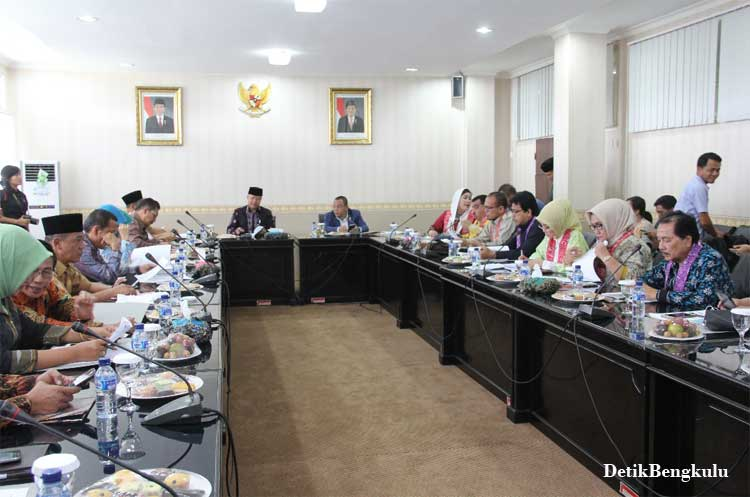 Bengkulu, DetikBengkulu.com, DPR RI Komisi IX Kunjungi Provinsi Bengkulu