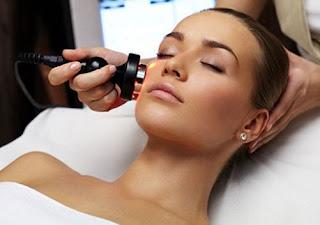 Foto Efek Samping Sinar Laser untuk Merawat Kecantikan Kulit dan Wajah di Klinik Kecantikan