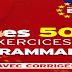 تحميل كتاب 500 تمارين من القواعد مع الأجوبة les 500 Exercices de Grammaire avec Corrigés