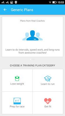 Избери готов тренировъчен план с Runkeeper