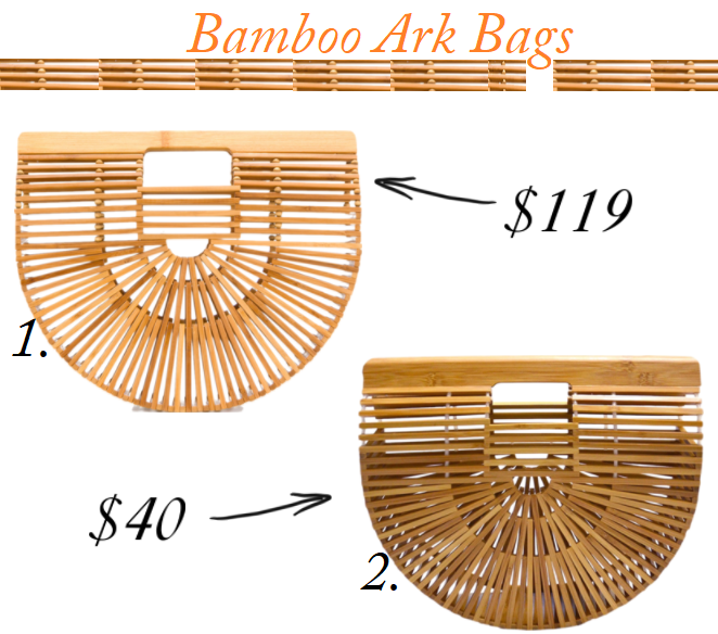 Cult Gaia Ark Bag, Cult Gaia Ark Bag dupe, Cult Gaia Bamboo bag, Cult Gaia Bamboo bag for less