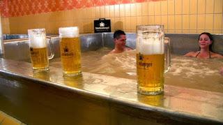 pileta cerveza