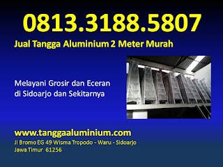 Jual Tangga Aluminium 2 Meter Murah