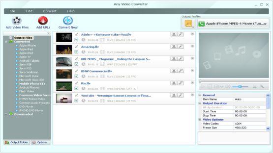 Any Video Converter Screenshot 3