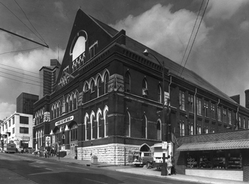Ryman Auditorium Nashville Tennessee Archival