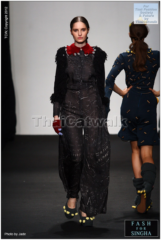 Bangkok Fashion Week: AURORA MODEL MANAGEMENT: Milena Tverdova For Bangkok
