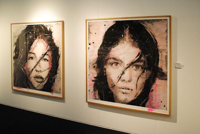 Acryl op papier, Lidia Masslorens, Galleria Miquel Alzueta