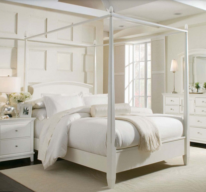 Simple Four Poster Canopy Beds