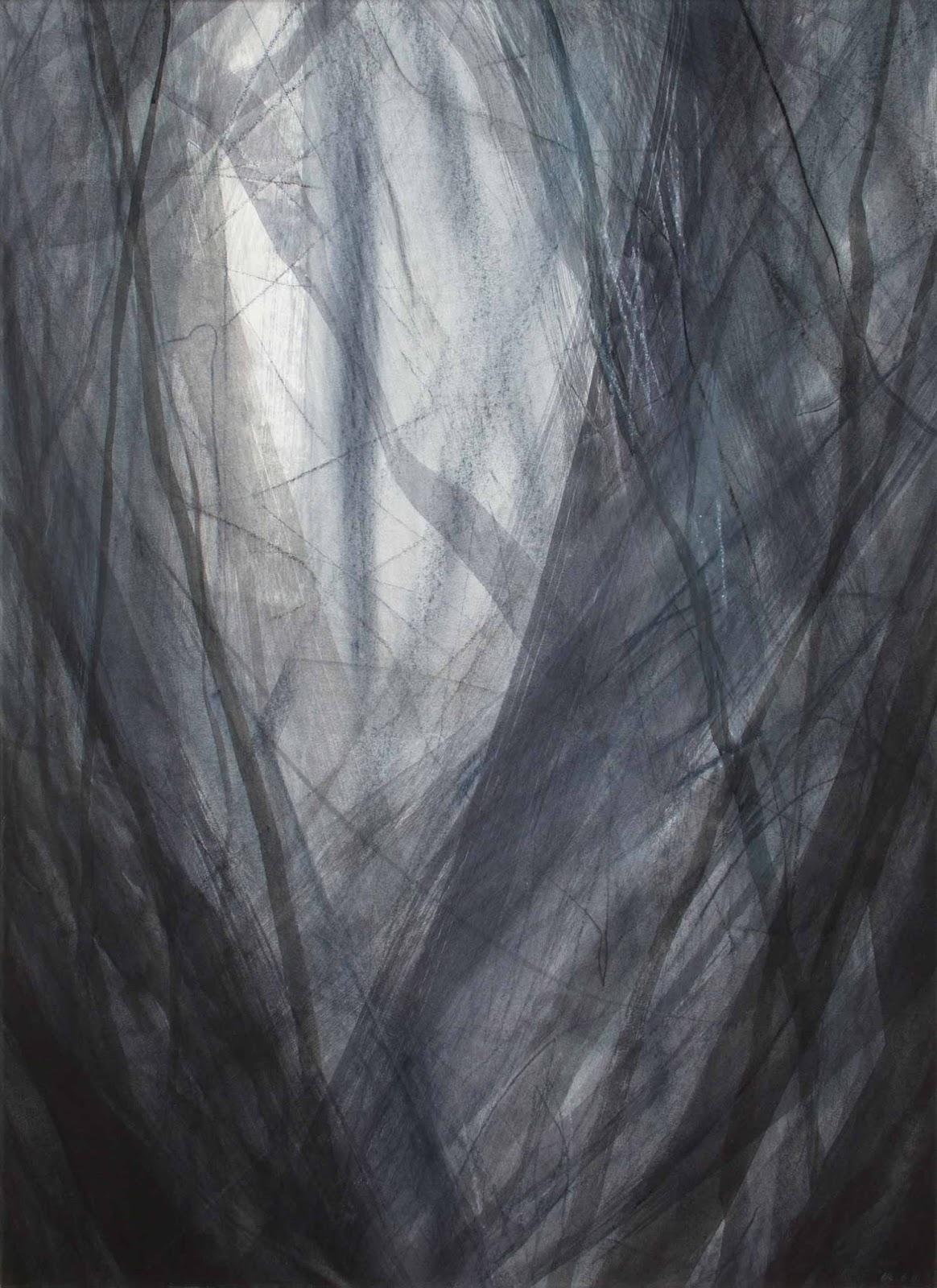 80 x 120 cm, techniques mixtes sur papier marouflé sur toile