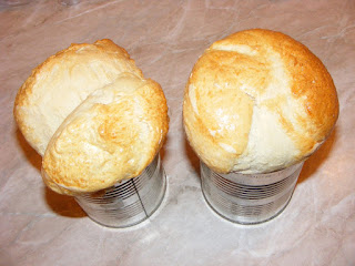 retete paine de casa la cutie de conserva, reteta paine alba, brutarie, panificatie, aluaturi,