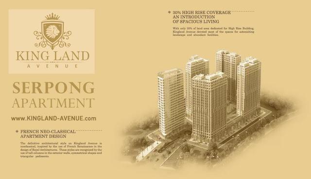 Kingland Avenue Serpong Apartemen