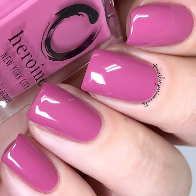 heroine NYC same old love swatch the nude romantics collection
