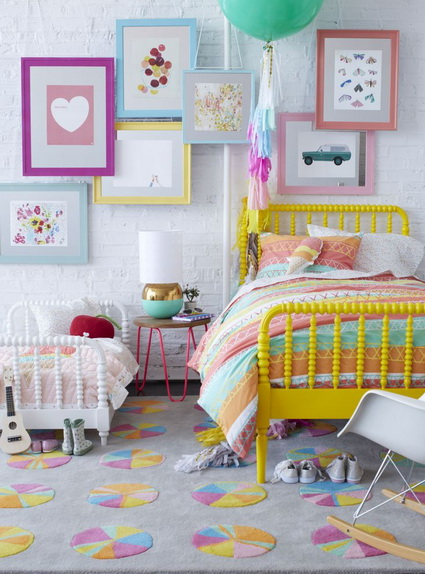 7 childrens rooms with lots of color 5
