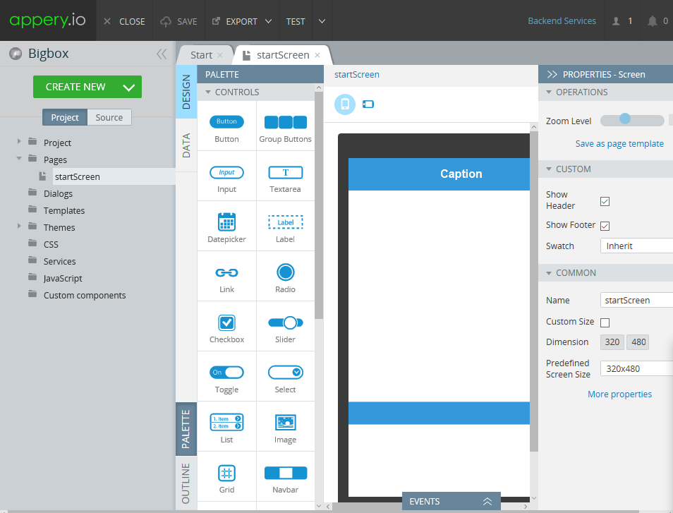 jquery mobile login template - hodentek jquery based mobile app with back end data using