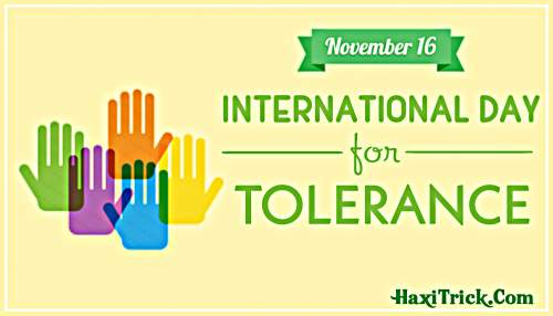 International Day for Tolerance 2019 In Hindi