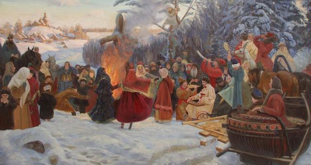 Máslenitsa, el carnaval ruso que da la bienvenida a la primavera