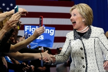 Hillary Clinton relishes big win over Bernie Sanders in South Carolina