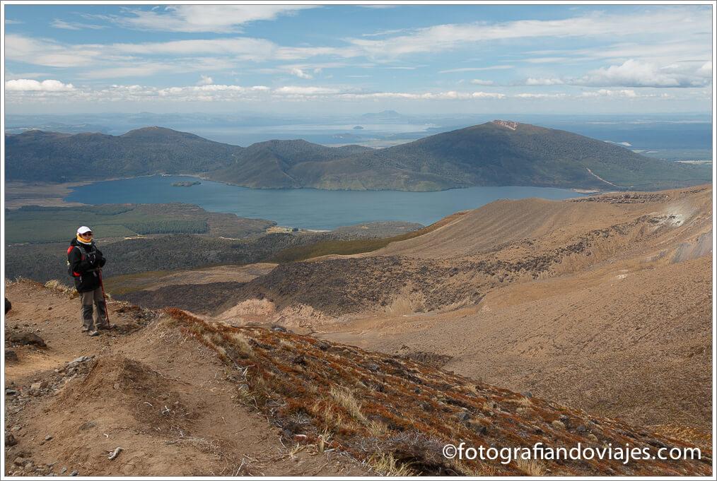 Tramo hacia Ketetahi Tongariro Alpine Crossing