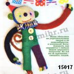 patron gratis mono amigurumi, free pattern amigurumi monckey
