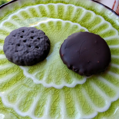 Version of Thin Mint Cookies (grain-free, low-carb)