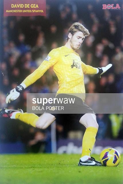David De Gea Manchester United 2012
