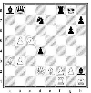 Posición de la partida de ajedrez Georgiev - Rogers (Biel, 1993)