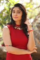 Telugu Actress Zahida Sam Latest Pos in Red Gown at RF Films New Movie Opening  0192.JPG