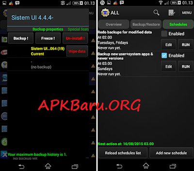 Titanium Backup Pro v7.5.0 Final Apk