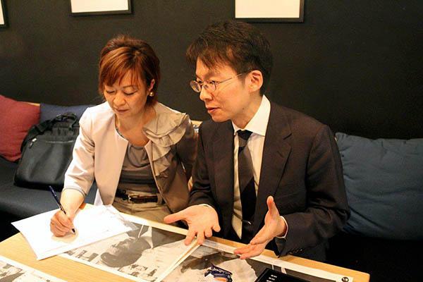 Kiyoaki Okubo hablando de Mikio Naruse