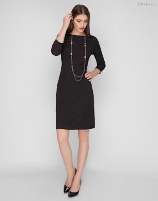 vestidos negros de gala