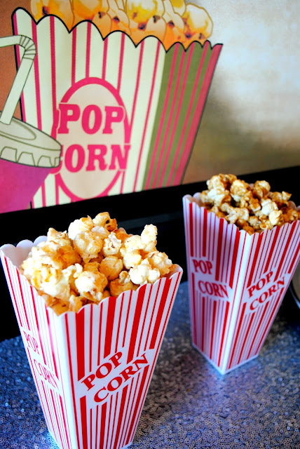 No movie party is complete without popcorn. Go gourmet with Poplandia popcorn.
