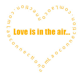 Laoconnection.com - Love is in the air - heart image