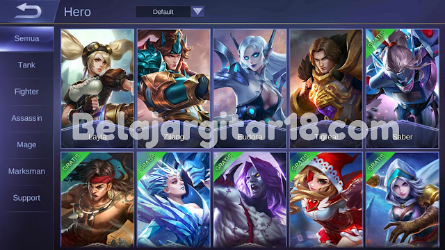 Pahami Jenis Hero Mobile Legends