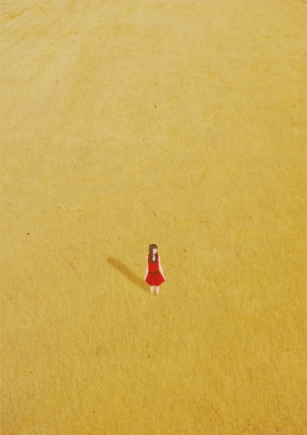 ©Belhoula Amir - Alone. Ilustración | Illustration
