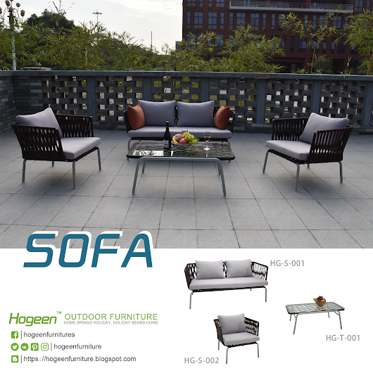 Weekly Sharing | Hogeen Rope Sofa set HG-T-001 HG-S-001 HG-S-002 -- Hogeen (GuangZhou) Trading Co.,Ltd