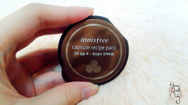 Review; Innisfree's Capsule Recipe Pack Jeju Volcanic Clay Mask