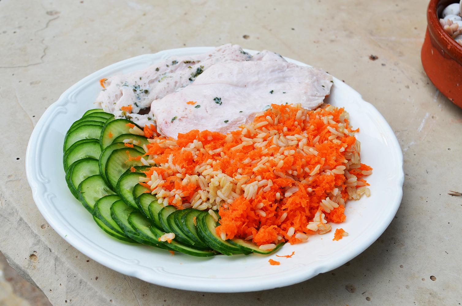 Posilek Po Treningu Zdrowy Obiad Piers Z Indyka Z Ryzem 698 Kcal