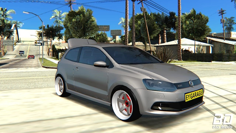 Download, mod, carro, GTA SA,Volkswagen Polo GTI, GTA San Andreas Android