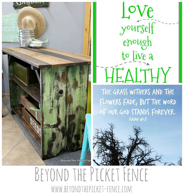 Beyond the Picket Fence | pallet wood projects