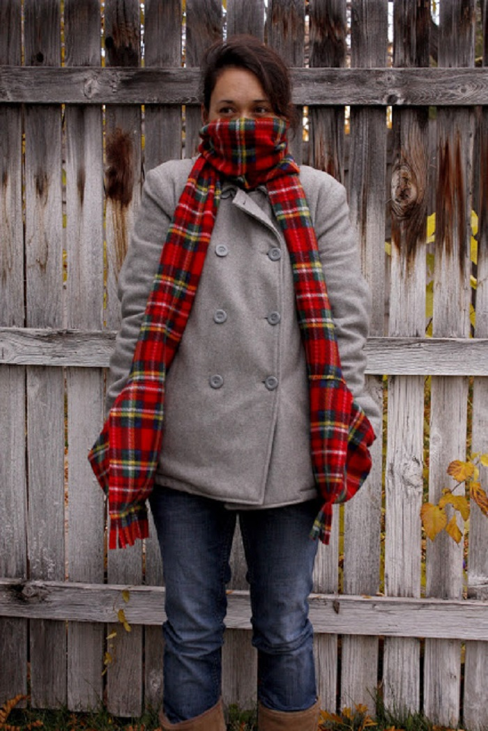 Deep Pocket Scarf
