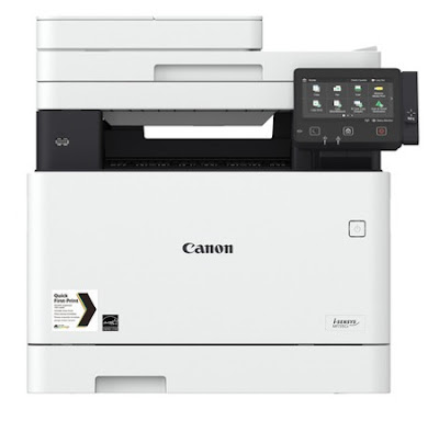 Cx printer boast a compact pattern that supports flexible piece of work inward habitation offices inward pocket-size together with Canon i-Sensys MF735Cx Driver Download