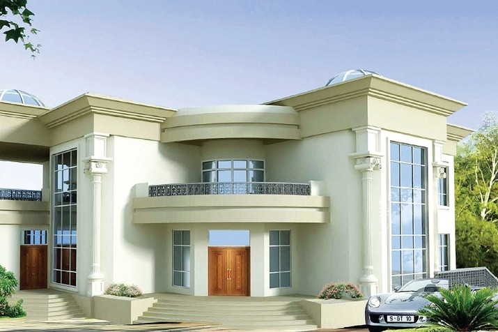 India kerala and international villa pictures abu dhabi for New villa design